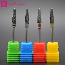 MAOHANG Carbide Nail Drill Bit Mill Cutter Grinding Head for Dead Skin Nail Polish Manicure Pedicure Machine Machine Tool 3/32''(China)