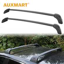 Auxmart Roof Rack Cross Bar for Mazda CX-7 2007~2012 Car Top Roof Rails Rack Load Cargo Basket Carrier Luggage 132LBS/60KG(China)