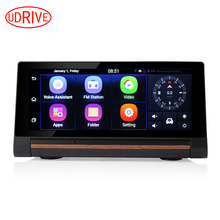 Udricare 7 inch 3G SIM Card Dashboard GPS Dual Lens DVR Bluetooth Phone Android 5.0 GPS Navigation 1GB RAM WiFi FHD 1080P DVR(China)