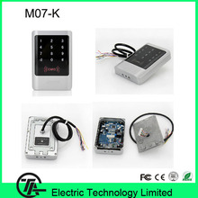M07-K IP68 Waterproof biometric standalone access control keypad RFID access control noctilucent keyboard access control system