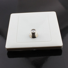 Cable digital satellite TV single-hole multimedia terminal terminal box panel f mother head type