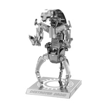 High Quality 3D Metal Puzzle Model Toys Star Wars Destroyer Metallic Steel Nano Intelligence Robot Model puzzles