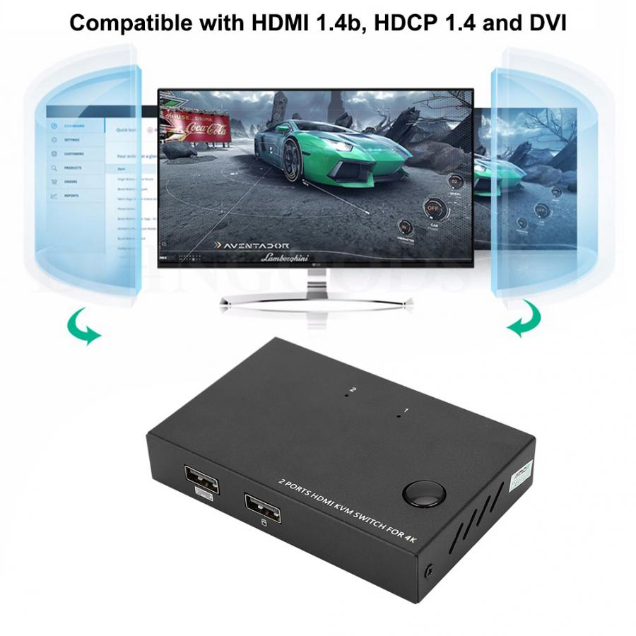 etc-3m Laptop AIMOS HDMI to VGA Cable HDMI Female to VGA Male Converter 1080P with 3.5mm Audio Jack for PC