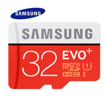 SAMSUNG Memory Card 32G SDHC 80MB/s 95MB/s Grade EVO+ MicroSD Class 10 Micro SD C10 UHS TF Trans Flash 32 GB Phone Cards(China)