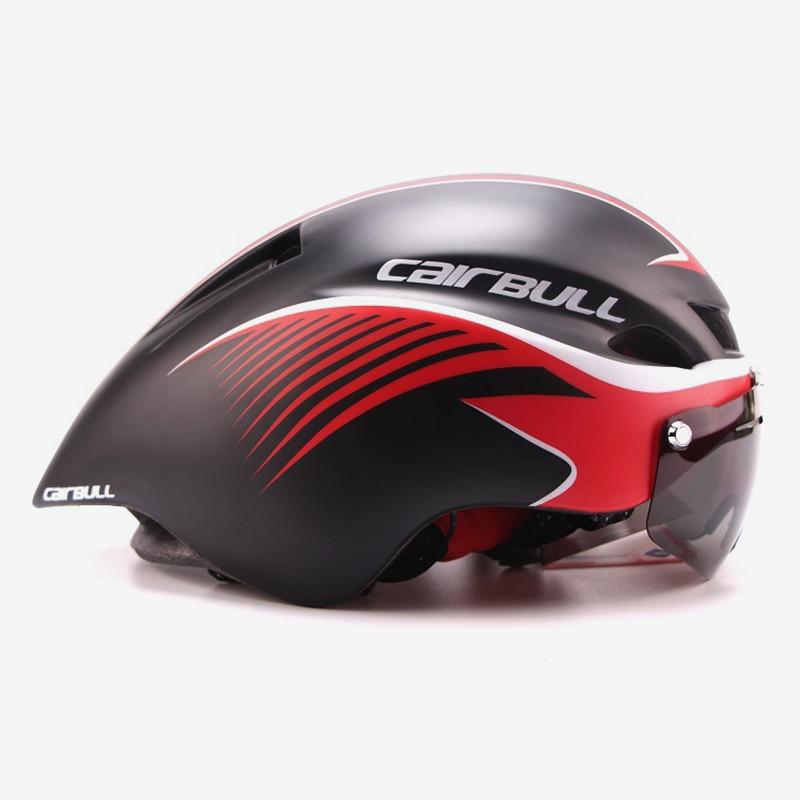 Goggle Cycling helmet ultralight EPS men women road mtb mountain bike helmet lens bicycle equipment Casco Ciclismo casque velo <br>