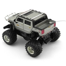 New Great Wall Mini RC Car Off Road Humvees Cross Country Vehicle Speed Hummer Remote Control Toys Traxxas Christmas 2207(China)