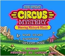 Sega 16bit MD games card: Mickey Mouse - The Great Circus Mystery For 16 bit Sega MegaDrive Genesis Game console EUR/USA Case
