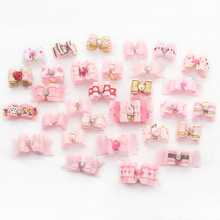 Armi store 10 Pcs Handmade Dog Bow Grooming Bows For Puppy Dogs Accessories Boutique Products 6020001 Color Party