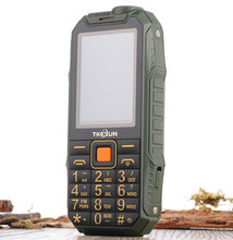 TKEXUN 6800 Power Bank Phone With Big Battery Long Standby Army Phone 6800 Shockproof Dustproof Mobile Dual Sim Cell Phone