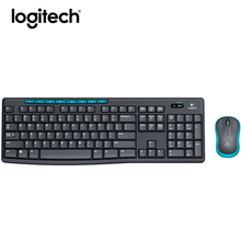 Original Logitech MK275 Wireless Mouse and Keyboard Combo M185 Mice Gaming Mouse Keyboard Set Optical Ergonomic Mini Receiver