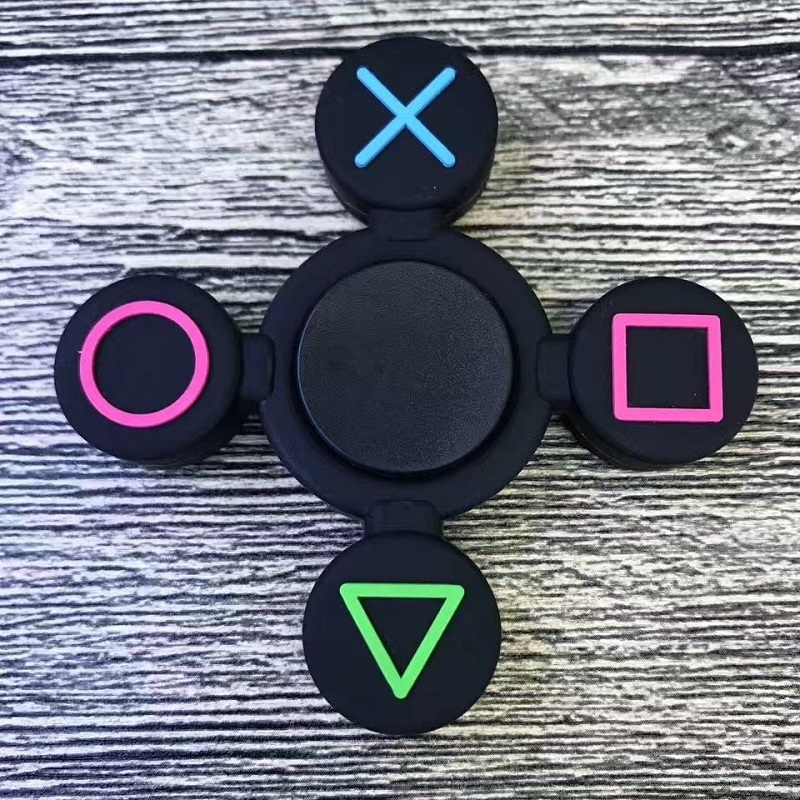 Hot Tri-Spinner Fidget Toy Metal Stress EDC Anti Stress Finger Hand Spinner Child Adult Multicolor Toys Gift Autism Spiner