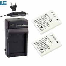 2X EN-EL8, ENEL8 Camera Battery + Charger for Nikon Coolpix P1, P2 , S1, S2 , S3 , S5 , S50, S50c, S51, S51c, S52.(China)