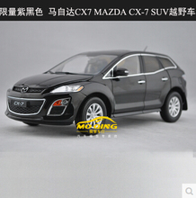 New MAZDA CX-7 CX7 1:18 car model SUV alloy metal diecast Station wagon kids toy boy gift collection black