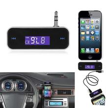 New Mini Wireless Transmitter 3.5mm In-car Music Audio FM Transmitter For iPhone 6 7 Plus Samsung iPad Car MP3 Transmitter