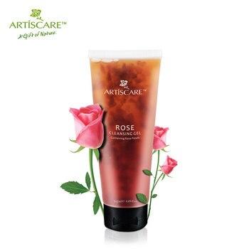Rose ARTISCARE Rose Gel Limpiador Hidratante Cuidado de La Piel y Cuidado de La Cara Blanqueamiento Aceite-control Naturaleza pétalos de Rosa Crema Limpiadora