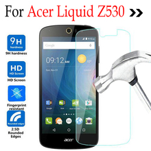 Tempered Glass For Acer Liquid Z530 Z530S Glass Screen Protector Cover Protective Film case For Acer Z 530 Glass Case(China)