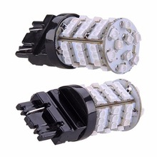 Katur 50x 7443 7444NA Led Lamps for Cars 1210 54-SMD 800 Lumens LED Turn Signal Light Bulb 12V Replacement Tail Brake Stop Light