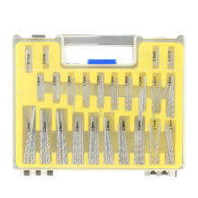 150pcs/set Metric System Mini HSS Twist Drill Set High Speed Steel Twist Drill Saw Bits Tool Set with Storage Case 0.4-3.2mm
