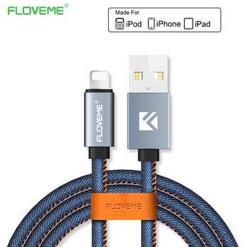 Floveme carga y cable de datos micro usb cable rápido vaquero móvil tipo c cable usb cargador de teléfono para samsung xiaomi huawei iphone
