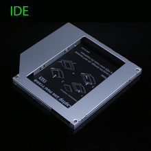 [Free Shipping] Full Aluminum 9.5mm IDE to SATA Second HDD Caddy 2.5'' SATA 2nd HDD Caddy for Laptop High Quality