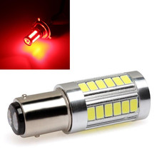 CYAN SOIL BAY Red BAY15D 1157 P21/W 1142 Car Rear Brake Light 5730 33-SMD 33SMD LED Fog Bulb Lamp DC12V 24V(China)