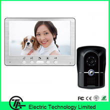 "Original 7"" TFT color LCD video doorphone intercom system 815FG11 video door bell with night vision IR camera and color monitor"
