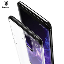 Buy Baseus Luxury Shockproof Transparent Phone Bag Case Samsung Galaxy S9 S9 Plus Back Cover Case Galaxy S9 S9+ Capinha Capa for $4.99 in AliExpress store