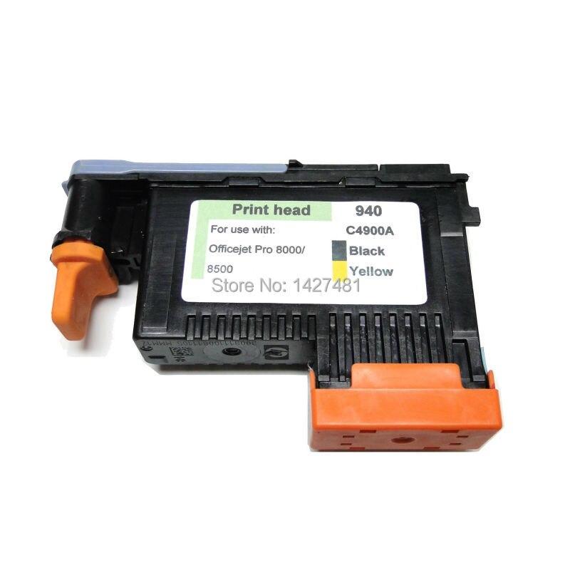 1 PCS compatible hp 940 C4900A BLACK/YELLOW printhead 940 printhead for hp pro 8000 pro 8500 printer head<br><br>Aliexpress