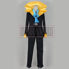 One Piece Dead Bones Brook Cosplay Cosplay black Costume Custom Made Any Size