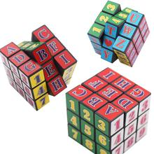 Figure Letter Magnetic Cube Magic Puzzle Block Cubo Educational Toys For Kids