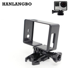 HANLANGBO for GoPro Hero 4 Standard Protective Frame Action Camera Accessories Plastic Border Mount For Go Pro Hero 3 3+ Case