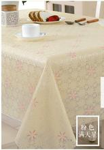 European hot stamping PVC waterproof cloth oil-proof hot rectangular square round table cloth
