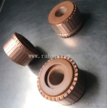 1PC 24 Tooth Cathode Copper Slot-commutator 9mm Inner Hole 23mm OD 11.8mm High A-001(China)