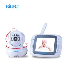 "Dropshipping 3.5""LCD Digital Wireless Baby Monitors Infrared night vision babyfoon camera PTZ Pan Video Camera Baba Video Nanny"