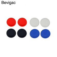 Bevigac 8x Controller Thumb Stick Grips Cap Cover For Sony Play Station PlayStation PS 4 3 2 PS4 PS3 PS2 console jogos Accessory(China)