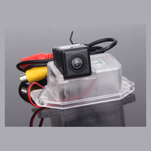 FREE SHIPPING CCD Car Reverse Camera for Mitsubishi Lancer Reversing Backup Rear View Review Parking Kit Night Vision(China)