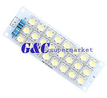 DC 12V 24-LED Super Bright White Piranha LED board Night LED Lights Lamp(China)