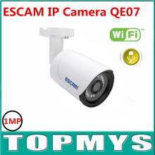 Free Shipping ESCAM Qe07 3.6mm Lens  Mini Wireless IP Camera WIFI ONVIF2.0 Audio Camera Support Alarm Motion Detection