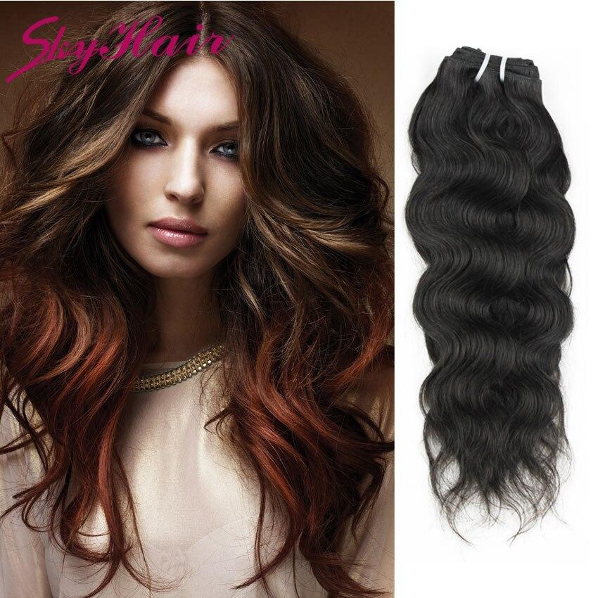 Brazilian virgin hair natural wave 4pcs/lot natural black 100% human hair weaving 4 bundles lot baby liss hair weaves<br><br>Aliexpress