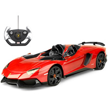 1:12 Large Luxury Roadster RC Car 39*17*9cm Model with Lights High-end Electronic Remote Control Toy for Adult Collecting Gifts(China)