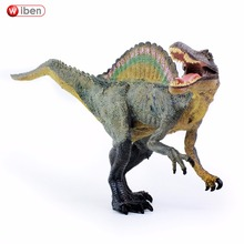 Wiben Jurassic Spinosaurus Dinosaur Toys Action Figure Animal Model Collection Learning & Educational Children Toy Gifts(China)