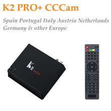 GOTiT KII PRO+1 Year CCCAM Europe 2GB/16GB DVB-T2 DVB-S2 Android TV Box Amlogic S905 BT4.0 Dual WIFI K2 PRO Satellite Receiver(China)
