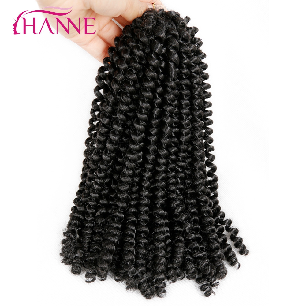 Compare prices on short hair extensions blonde online shopping hanne 3pcs crochet braids hair extensions 8inch short synthetic spring twist ombre braiding hair 110g pmusecretfo Gallery