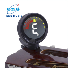 ENO ET-39 360 degree Mini Electric Clip on For Chromatic Bass Guitar Ukulele Violin Tuner(China)