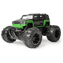 ET Electric RC Car 4CH Hummer Off-road RC Vehicles 2.4GHz low-lying land Car Damping Toy Car Remote Car Model with Painted Body