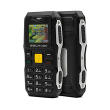 Smallest Mobile Phone Melrose S10 Single SIM Card Big Voice Flashlight Mini Rugged Shockproof Phone
