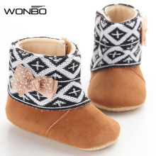 Baby Boots Winter Child Snow Boots Children Warm Infant Crib Boys Girls Fur Winter Snow Shoes