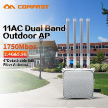 1750M Dual Band 5GHz&2.4G CPE  Wireless AP bridge 4*8Dbi Antenna outdoor WIFI Router WIFI Access Point With 48V POE Adapter