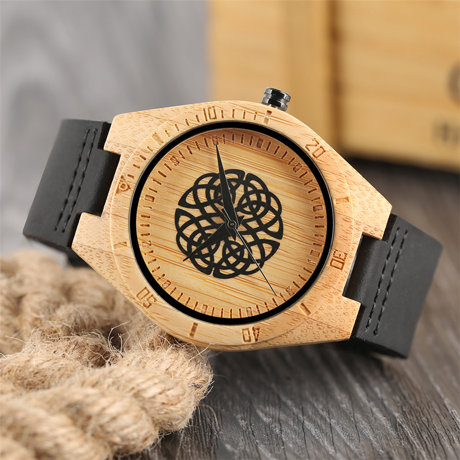 genuine leather band creative watches for men09