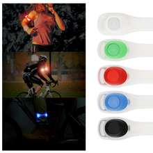 Safety Night Running Arm Leg Light Waterproof Silicon Sport Lamp for Outdoor Cycling Jogging Camping Climbing Walking Concert